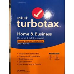 Kyпить TurboTax 2020 Home & Business Federal and State Returns Disk+  INCLUDES DOWNLOAD на еВаy.соm