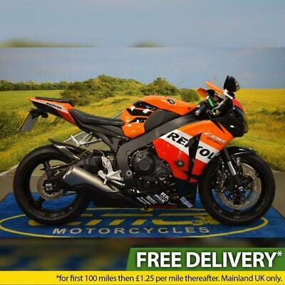 2012 Honda CBR1000 RR Fireblade, All Books & Keys, Repsol Livery, R&G Protection