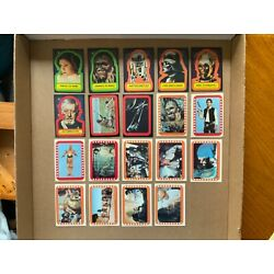 Kyпить 1977 STAR WARS STICKERS 19 DIFFERENT, SERIES 1-2-4-5, Pick From List $2.00 Each на еВаy.соm