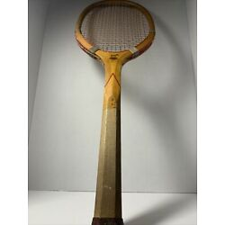 Kyпить 1900s Rare ANTIQUE DRAPER MAYNARD SOLID WEDGE CHECKERED WOOD TENNIS ???? RACKET на еВаy.соm