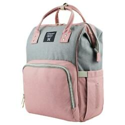 Kyпить Waterproof Diaper Bag Backpack with Padded Straps Large Capacity Changing Matern на еВаy.соm