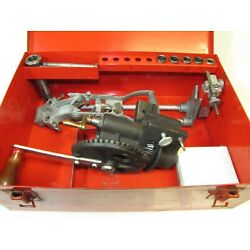 Kyпить Vintage SNAP-ON KRA-108 ARMATURE RECONDITIONING CUTTER KIT MICA LATHE Hand Crank на еВаy.соm