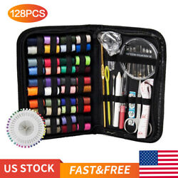 Kyпить 128Pcs DIY Multi-function Sewing Box Set Portable Travel Emergency Sewing Kit на еВаy.соm