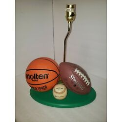 Kyпить A34 Sports Lamp Molton Basketball Spalding Football Champro Baseball Table Lamp на еВаy.соm
