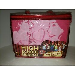 Kyпить  D37 Twin size SHEET SET High School Musical DISNEY Pink Deep Pocket на еВаy.соm