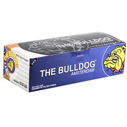 The Bulldog Amsterdam King Size Cigarette Filter Tubes 200 pieces *Full Box