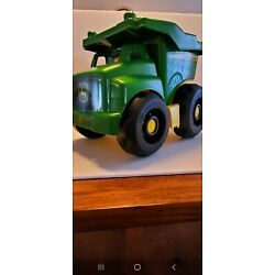Kyпить MEGA BLOCKS JOHN DEERE GREEN DUMP TRUCK WITH MAN на еВаy.соm