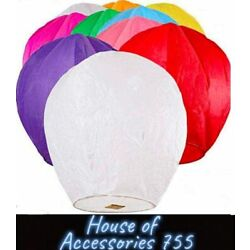 Kyпить Paper Chinese Lanterns Assorted Colors for Wish Birthday Wedding 10pack, 20pack на еВаy.соm