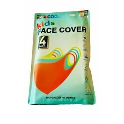 Kyпить 32 Degrees Cool Kids Durable Washable Face Cover 4 Pack, one size на еВаy.соm