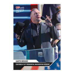 Garth Brooks USA Election Topps Now Card 19 Performs at 59th inauguration