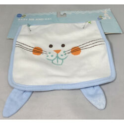 Kyпить Matching Baby Bib and Hat 0-6months Bunnies Easter Theme New with Tags Unbranded на еВаy.соm