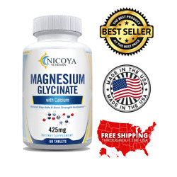 Magnesium Glycinate 350 mg For Improved Sleep, Stress & Anxiety Relief
