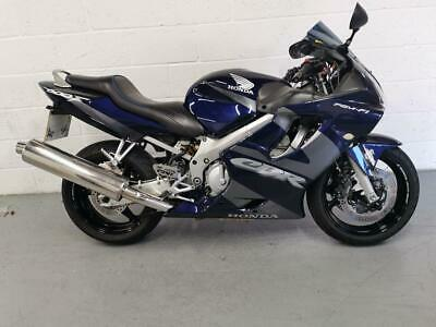 2002 Honda CBR600F CBR600F Petrol blue Manual