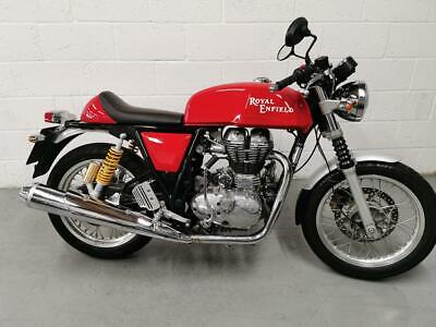 2014 Royal Enfield Continental GT Continental GT Petrol red Manual