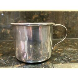 Kyпить For Sale A Beautiful Vintage Luella Sterling Silver Baby Cup на еВаy.соm