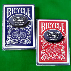 Kyпить Bicycle Safety Playing Cards  Red / Blue на еВаy.соm