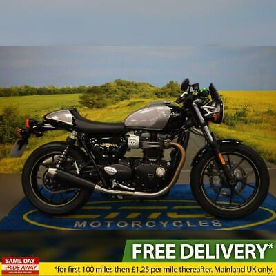 2017 Triumph Street Cup, All Books & Keys, Service History, Fly Screen