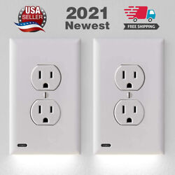 Kyпить 2 Guidelight Outlet Wall Plate With LED Night Lights - No Batteries Or Wires New на еВаy.соm