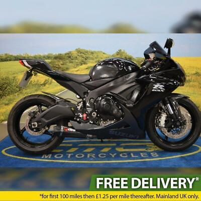 2012 Suzuki GSXR 600, All Books & Keys, Service History, Tail Tidy, Scorpion Can