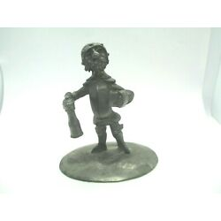 Kyпить MICHEL LAUDE SIGNED PEWTER MEDIEVAL SOLDIER Figure Small Warrior STAMPED ETAIN на еВаy.соm