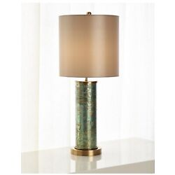 Kyпить John-Richard Collection Emerald Brass Table Lamp на еВаy.соm
