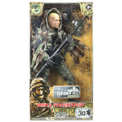 M & C Toy 1:6 12'' World Peacekeepers: Sniper (Jungle) MCT-90360A