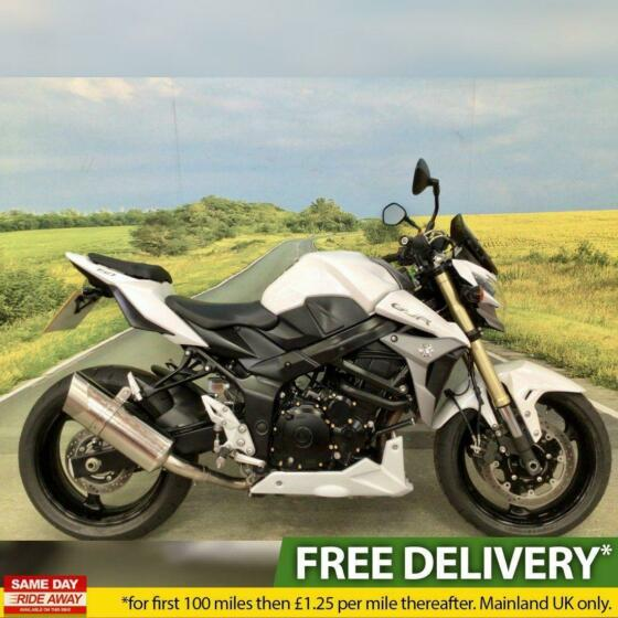 Suzuki GSR 750AL5 ABS 2015. All books and keys, HPI clear,