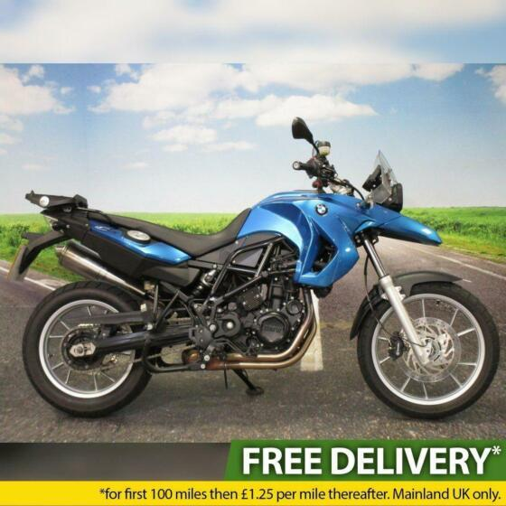 BMW F650GS 2008 - Low Mileage, Heated Grips, All Keys/Books, ABS