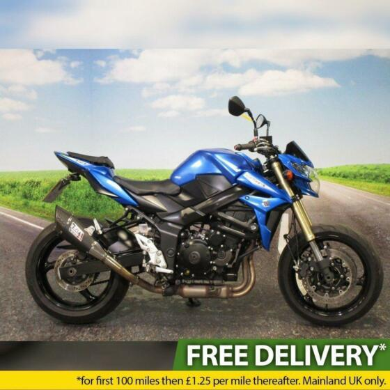Suzuki GSR 750 2016 - Low Mileage, Yoshimura Carbon Exhaust, All Keys/Books