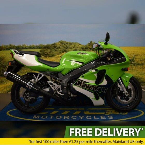 2002 Kawasaki ZX 7R, Excellent Standard Condition, USD Forks, Tank Pad
