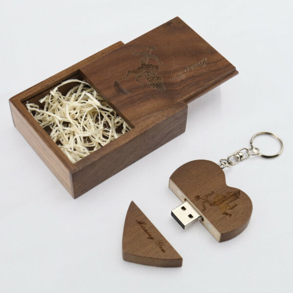 United KingdomMemory Disk Engraved Missing You with Gift Box 64G  2.0 for Valentine's Day