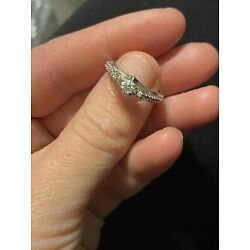 Kyпить kay jewelers diamond engagement ring 1/3 ct round cut Size 5.5 на еВаy.соm