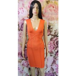 Marciano By Guess Orange Badge Dress Size S