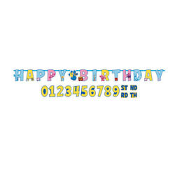 BLUES CLUES Friends Birthday party supplies ADD AN AGE letter BANNER customize