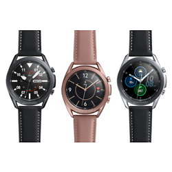 Samsung Galaxy Watch3 SM-R845 SM-R855 45mm 41mm  Stainless Leather  9/10