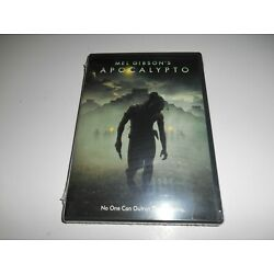Apocalypto: directed by Mel Gibson's [DVD, 2007 ] Brand New & Sealed + Fast Ship