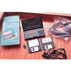 Kyпить HP 200LX Palmtop PC 2MB DOS w/Serial Manuals Batteries Connectivity Kit and More на еВаy.соm