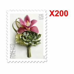 Kyпить 200PCS USPS Forever Contemporary Boutonniere 2020 US Postage Stamp Free Shipping на еВаy.соm