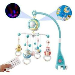 Kyпить  Baby Musical Mobile Crib with Music and Lights, Timing Function, Blue на еВаy.соm
