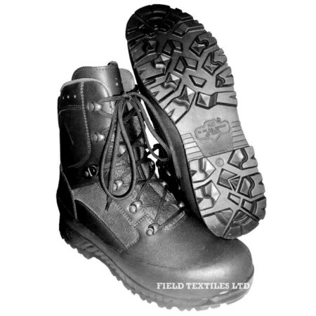 img-Haix Combat High Liability Black Boots - Male - Brand New - Size 5w - A23