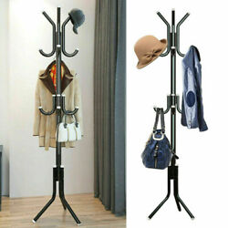 Coat Rack Hat Has 3 base Metal Legs For Sturdy Standing & No Scratches On Floor