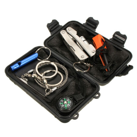 img-UK Outdoor Emergency Survival Kit First Aid Tool Set Rescue Set Hiking Campin L