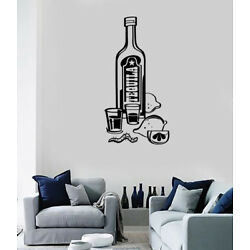 Vinyl Wall Decal Sticker Drink Tequila National Strong Alcohol Agave (n1439)