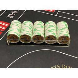 Full Rack of $1 Circa Casino Chips - New Condition