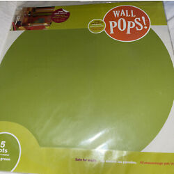 Brewster Wall Pops! 5 Dots 1 Color Stylin Green Wall Art 13