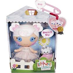Lalaloopsy Littles DollBreeze E. Sky with Pet Cloud7'' Angel Doll with Wings