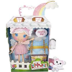 Lalaloopsy Doll Cloud E. Sky with Pet Poodle13'' Angel Doll Kids Gift New 2021