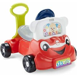 Fisher-Price Laugh and Learn 3-in-1 Smart Car Kids Gift New