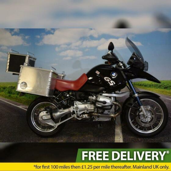 2003 BMW R1150 GS, Full Luggage, Main Stand, Heated Grips, Shaft Drive