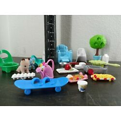 Shopkins & Other Various Parts and Pieces - Chairs Animals Barbie Wagon